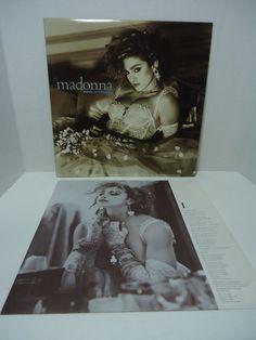 "Madonna Like A Virgin LP 12"" Vinyl 33RPM 1984 Sire Records Canada 92-51571 #1980sDancePop"