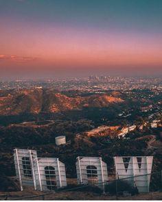 At Hollywood Sign by Will Nichols | CaliforniaFeelings.com #california #cali #LA #CA #SF