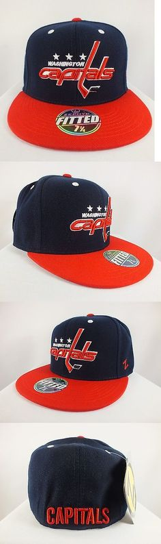 4a1314c807736f Other Unisex Clothing 155203: Washington Capitals Nhl Adult Fitted Cap Flat  Brim New Hat By Zephyr E-50 -> BUY IT NOW ONLY: $19.95 on #eBay #other  #unisex ...