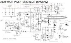 3000 Watt Inverter Circuit Diagram to complete pcb layout design. High power inverter circuit diagram see here for more information. Power Electronics, Electronics Projects, Inverter Welding Machine, Solar Power Inverter, Solar Energy Projects, Power Supply Circuit, Electronic Circuit Projects, Electronic Schematics, Radios