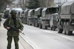 Russische Armee marschiert an Ukraine-Grenze auf