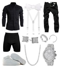 """BPB 9"" by blvcksymba on Polyvore featuring NIKE, Bony Levy, men's fashion and menswear"