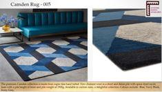 Camden, Colours, Rugs, Grey, Blue, Collection, Home Decor, Farmhouse Rugs, Gray