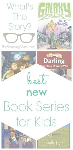 Best New Book Series for Kids