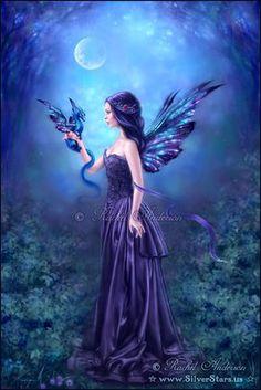 Fantasy And Fairy Tales - Rachel Anderson Art - Iridescent