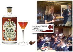 Toscano cigar meets Nonino spirits at Vinitaly 2013 Exhibition (courtesy of Nonino Distilleries http://www.grappanonino.it/en/)