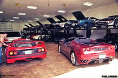 Dream Garage F40 Muscle Cars #MuscleCars #LoveOnlineToday.com