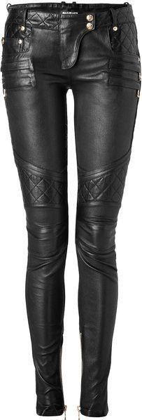 Love, love, love these leather pants...