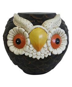 Another great find on #zulily! Owl Garden Stool by Alpine Corporation #zulilyfinds