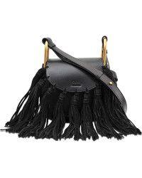 Chloé Hudson Mini Shoulder Bag With Tassels - Lyst