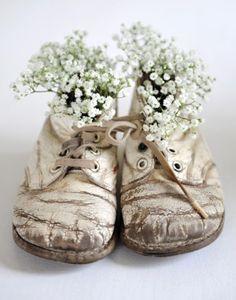 Flores, siempre flores.
