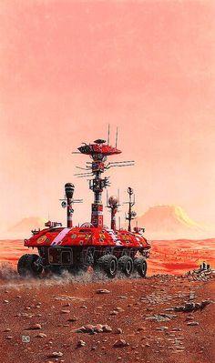 translucentmind:  A Martian Odyssey // Peter Elson