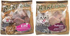 BARF-In-One KATZE in 4 Sorten – das sind innovative Komplett-Menüs