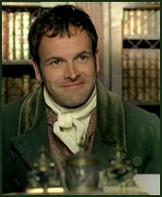 Jonny Lee MIller as Mr. Knightley. Jonny is always gorgeous but in Jane Austen garb.....even better!