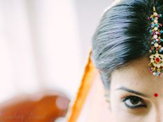#beautiful #eyes shot at the #Indian #wedding #ceremony of Ritu & Karan  They traveled to India from New Jersey to get married in January.  It was a short but beautiful ceremony, followed by an evening #reception  This photo is from the #bridal #photography right after the #make-up