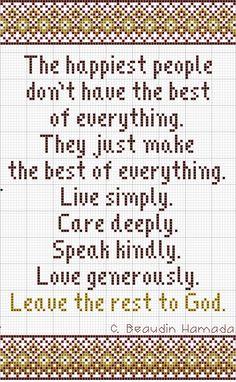 Carolyn's Quote Sampler