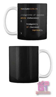 Mug Gifts For Programmers - pinupi love to share Computer Programming Languages, Programming Humor, Computer Coding, Computer Humor, Python Programming, Anniversary Ideas For Him, Gifts For Programmers, Co Working, Just For You