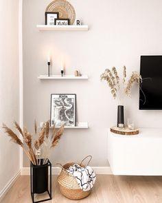 Nordic Living Room, Living Room Decor Cozy, New Living Room, Home Decor Bedroom, Living Room Inspiration, Home Interior Design, Living Room Designs, Modern Wall Decor, Sweet