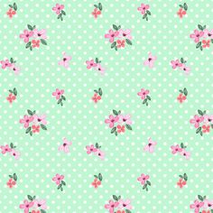 Shabby Chic floral Digital Watercolor Paper pattern