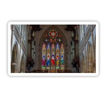 Stained Glass Windows - Sacred Heart Cathedral, Bendigo Sticker