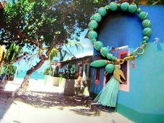 """Bohemian Turquoise bracelet from the """"Los Roques"""" Collection"""
