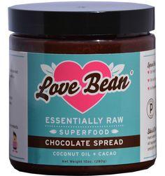 Love Bean Essentially Raw Superfood Chocolate Spread #vegan