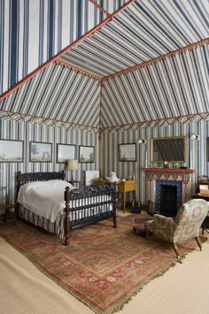 Tent Room at Kingston Lacy in Dorset. Fabulous.