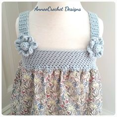 Darling Summer Dress Free Tutorial By AnnooCrochet Designs
