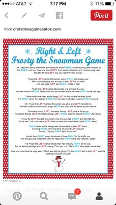 "Great gift exchange game for large groups -- takes less time than the traditional ""Dirty Santa"" gift exchange (where gifts are opened one at a time and up to three steals are allowed.)"