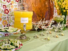 margarita bar would be fun for the rehearsal dinner or an engagement party
