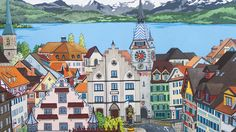 View Over Zug Feature By Jonathan Chapman MA