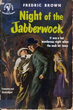 Night of the Jabberwock (1952) Cover art by Robert Skemp