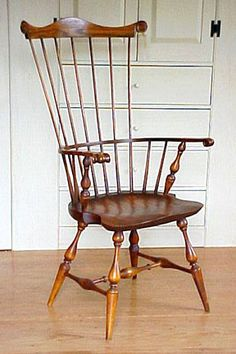 Windsor chair~~My love for Windsor chairs requires they be used amply throughout the house....