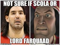 Scola vs. Lord Farquaad! - http://weheartnyknicks.com/nba-funny-meme/scola-vs-lord-farquaad