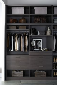 Conceal or display - all in style - all with TCS Closets.