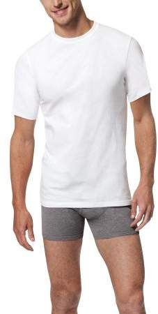 e2fcc23175 Hanes Men's Big & Tall X-Temp White Crew T-Shirts, 4 Pack, Size 2XL ...