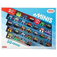 Superb Thomas & Friends Minis Toy Engine 30 Pack Assortment Now at Smyths Toys UK. Shop for Thomas and Friends Only at Smyths Toys At Great Prices. Free Home Delivery for orders over Lego Table With Storage, Lego Storage, Kids Storage, Smart Storage, Food Storage, Train Table, Toys Uk, Wooden Train, Thomas And Friends