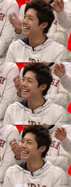 Kim Hyun Joong 김현중 ♡ adorable laugh ♡ smile ♡ Kpop ♡ Kdrama ♡♡♡ ^^