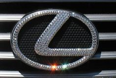Bling-Bling! :) Diamond Clear, Icy Couture Swarovski Crystal LEXUS Emblem! Whats your color? We bling ALL car emblems & parts!