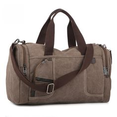3c39bcd4e165 51.98Khaki Color Durable Canvas Sport Bag Price  51.98  amp  FREE Shipping   hashtag2