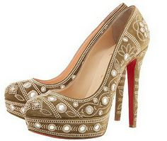 "Christian Louboutin ""Bollywood"" shoe."