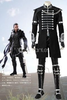 Kingsglaive Final Fantasy XV Nyx Ulric Cosplay Costume