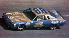 Donnie Allison DiGard Chevy Daytona 500 1974