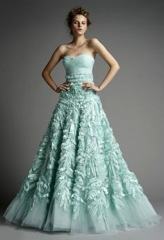 Zuhair Murad - Mint Green Gown