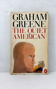 The Quiet American by Graham Greene vintage paperback Penguin Books 1980 The Quiet American, Sleepy Bear, Graham Greene, Penguin Books, Penguins, Literature, Ebay, Vintage, Literatura