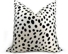 One Velvet Leopard Zipper Pillow Cover 18x18 24x24 by Pillomatic