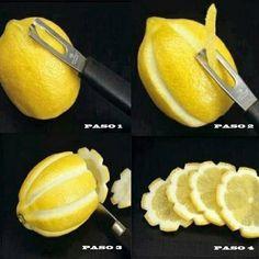 Ideas con Limones para Fiestas