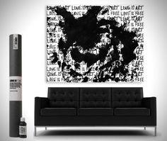 Du kan göra ditt sex till ett konstverk http://blish.se/7d2da6c657 #sex #konst #loveisartcanvaskit #jeremybrown #humor