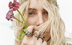 ManiaMania's latest lookbook, featuring Dree Hemingway, is flawless and breathtaking. I'm absolutely floored by the Art Nouveau-inspired necklaces and crystal set cocktail rings . . . and with the perfect addition of decorative chain mail and delicate anklets,