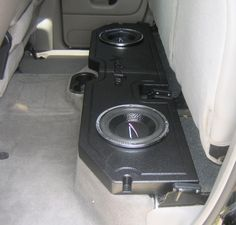 I want this speaker box for the back seat. Only a single sub though. After that...I am all done with my truck. Chevy Trucks Older, Chevy Diesel Trucks, Classic Chevy Trucks, Ram Trucks, Dodge Trucks, Powerstroke Diesel, Truck Speaker Box, Vanz, Truck Mods